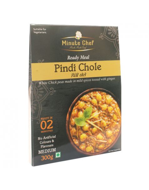 Minute Chef-Ready to Eat Pindi Chole, 300g