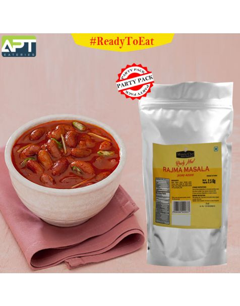 Minute Chef- Ready to Eat Rajma Masala, 2.5 Kg Family Pack / Big Pack / Party Pack