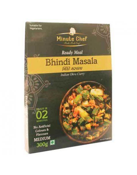 Minute Chef- Ready to Eat Bhindi Masala 300g