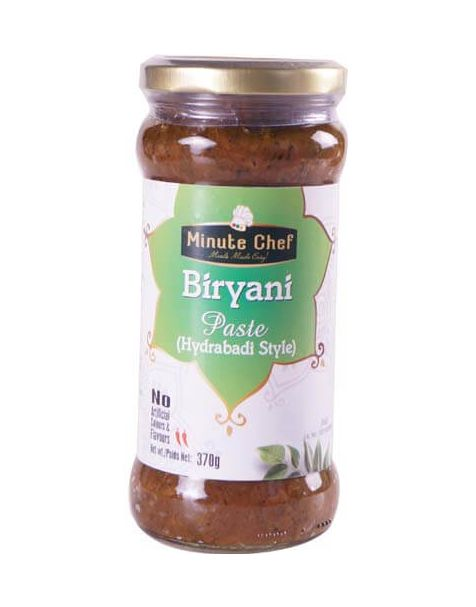 Minute Chef- Ready to Cook Hydrabadi Biryan Paste, 370g