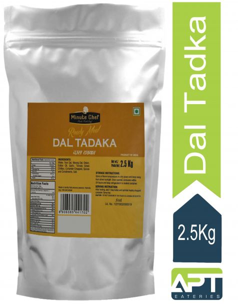Minute Chef- Ready to Eat Dal Tadka, 2.5Kg Family Pack / Big Pack / Party Pack