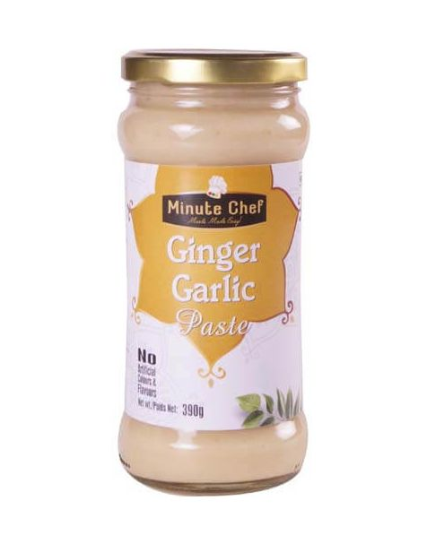 Minute Chef- Ready to Cook Ginger Garlic Paste, 390g