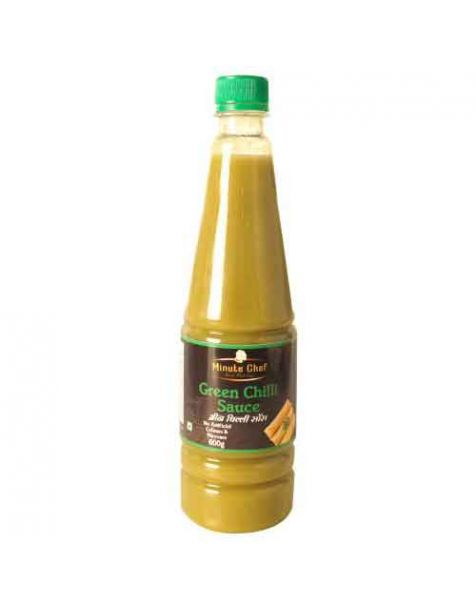 Minute Chef Green Chilli Sauce 600g