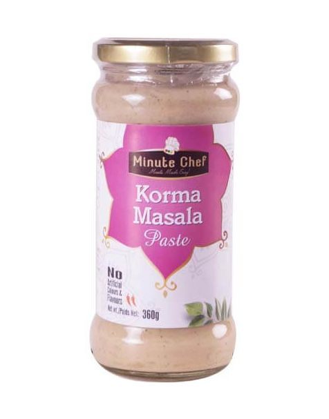 Minute Chef- Ready to Cook Korma Masala Paste, 360g