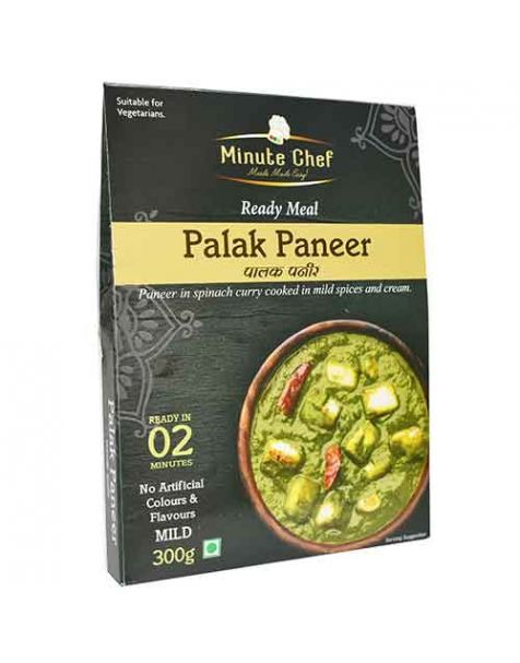 Minute Chef- Ready to Eat Palak Paneer, 300g