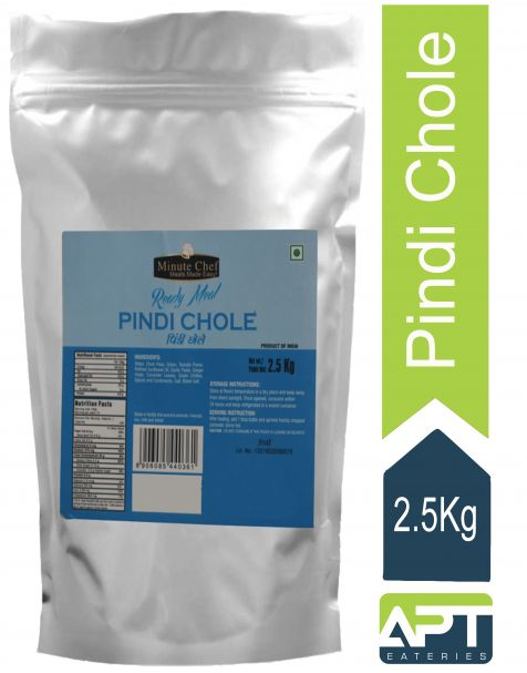Minute Chef-Ready to Eat Pindi Chole, 2.5 Kg Family Pack / Big Pack / Party Pack