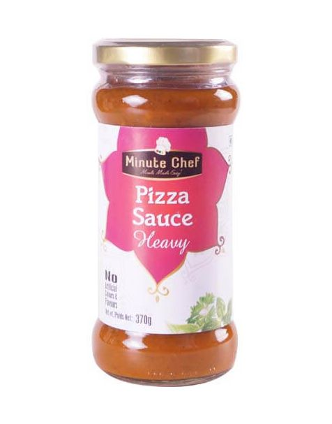 Minute Chef- Ready to Cook Pizza Sauce Heavy, 370g