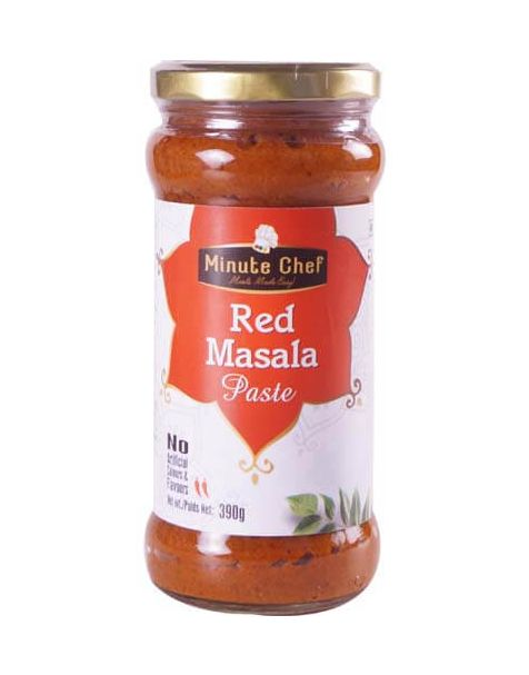 Minute Chef- Ready to Cook Red Masala Paste, 390g