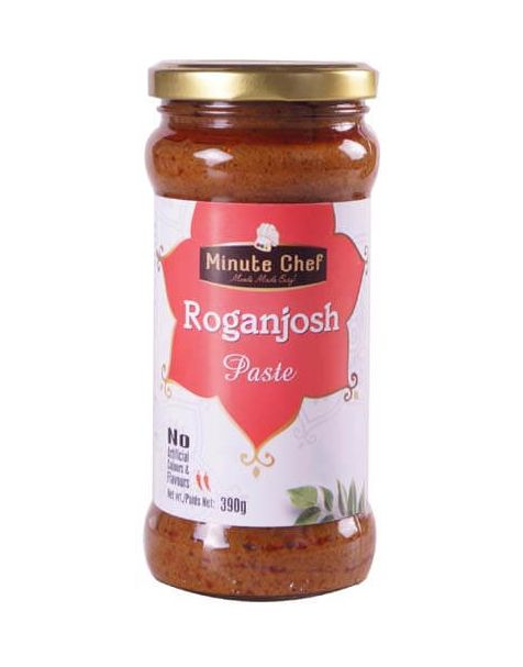 Minute Chef- Ready to Cook Roganjosh Paste, 390g
