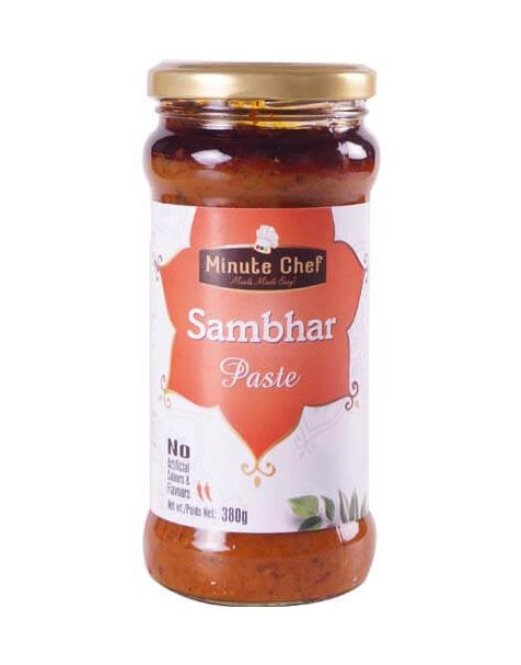 Minute Chef- Ready to Cook Sambhar Paste, 380g