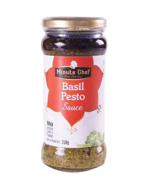 Minute Chef- Ready to Cook Basil Pesto Sauce, 350g