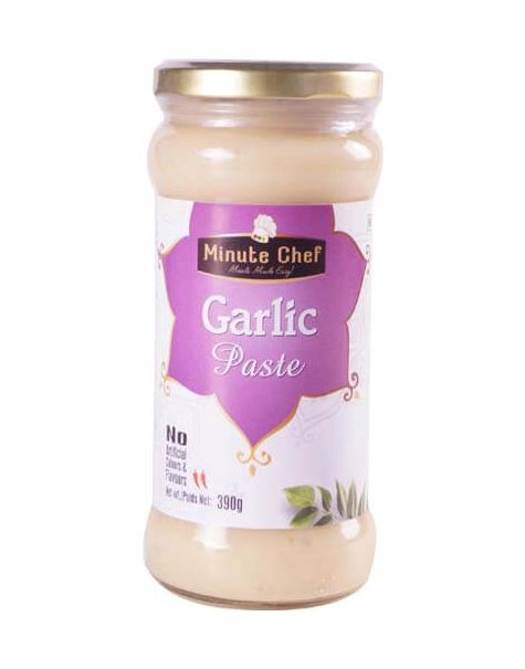 Minute Chef- Ready to Cook Garlic Paste, 390g