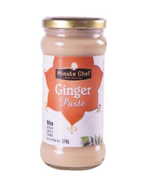 Minute Chef- Ready to Cook Ginger Paste, 370g