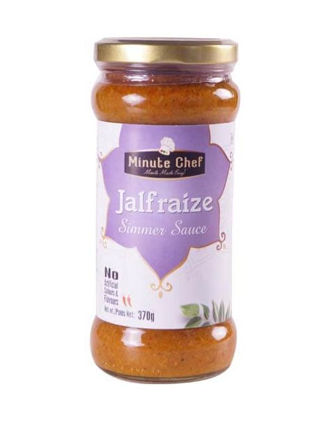 Minute Chef- Ready to Cook Jalfrezi Simmer Sauce, 370g