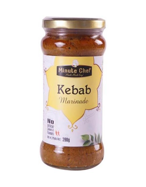 Minute Chef- Ready to Cook Kebab Marinade, 390g